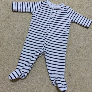 Starting out velvet unisex coverall footie 3 M